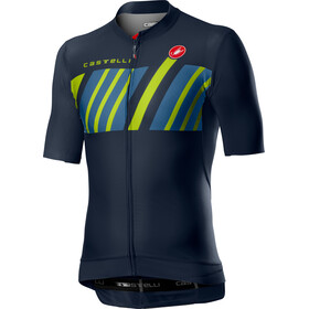 Castelli Hors Categorie Jersey Korte Mouwen Heren, dark steel blue
